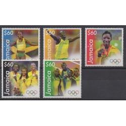 Jamaïque - 2013 - No 1181/1185 - Jeux Olympiques d'été