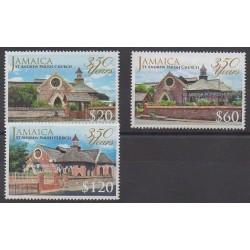 Jamaïque - 2014 - No 1194/1196 - Églises