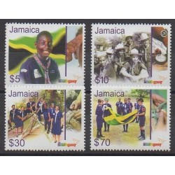 Jamaica - 2007 - Nb 1135/1138 - Scouts