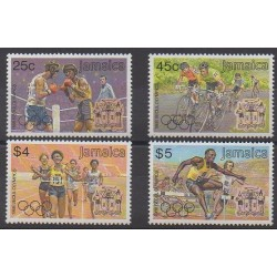Jamaica - 1988 - Nb 716/719 - Summer Olympics