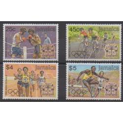 Jamaïque - 1988 - No 716/719 - Jeux Olympiques d'été