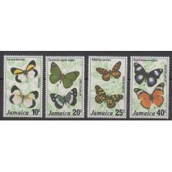 Jamaïque - 1977 - No 431/434 - Insectes