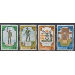 Jamaïque - 1978 - No 450/453 - Histoire