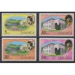 Jamaica - 1975 - Nb 398/401