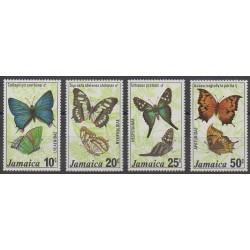 Jamaïque - 1978 - No 443/446 - Insectes