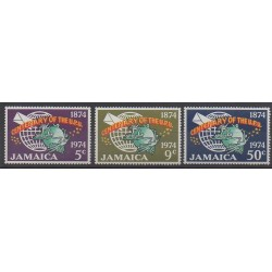 Jamaica - 1974 - Nb 395/397 - Postal Service