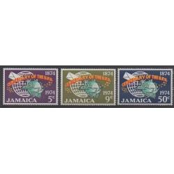 Jamaïque - 1974 - No 395/397 - Service postal