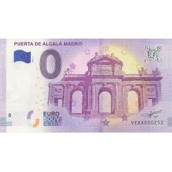 Billet souvenir - Puerta de Alcalá Madrid - 2018-1 - No 252