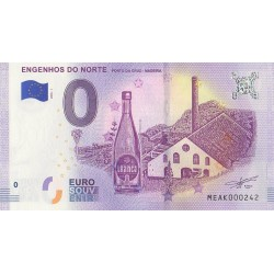Billet souvenir - Engenhos do Norte - Porto da Cruz - Madeira - 2018-1 - No 242