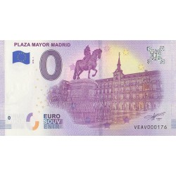Euro bankenote Memory - ES - Plaza Mayor Madrid - 2018-1 - No 176