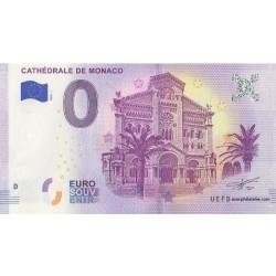 Billet souvenir - Cathédrale de Monaco - 2018-1