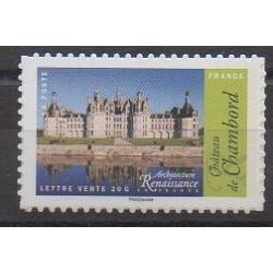 France - Self-adhesive - 2015 - Nb 1114A - Castles