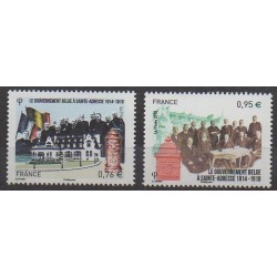 France - Poste - 2015 - Nb 4933/4934 - First World War