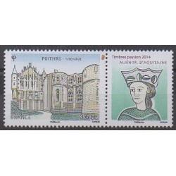 France - Poste - 2014 - No 4859 - Histoire - Châteaux