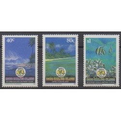 Cocos (Iles) - 1992 - No 264/266 - Sites