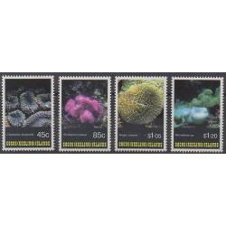 Cocos (Iles) - 1993 - No 267/270 - Animaux marins