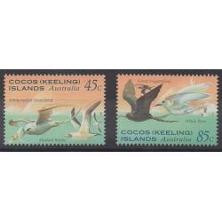 Cocos (Iles) - 1995 - No 313/314 - Oiseaux