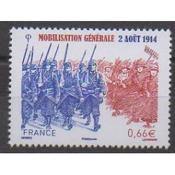 France - Poste - 2014 - Nb 4889 - First World War