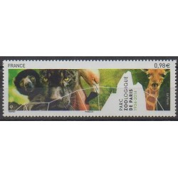 France - Poste - 2014 - Nb 4868 - Parks and gardens - Animals