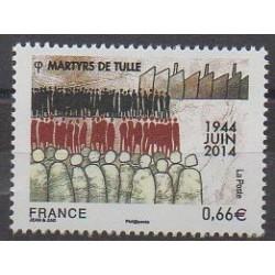 France - Poste - 2014 - Nb 4865 - Second World War