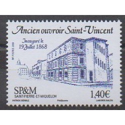 Saint-Pierre et Miquelon - 2018 - No 1200 - Monuments