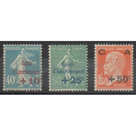 France - Poste - 1927 - No 246/248 - Neuf avec charnière