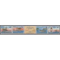 Cocos (Iles) - 1989 - No 210/213 - Navigation - Première Guerre Mondiale