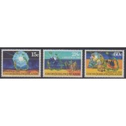 Cocos (Iles) - 1980 - No 53/55 - Noël
