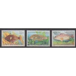 Cocos (Iles) - 1980 - No 50/52 - Animaux marins