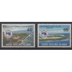 Cocos (Iles) - 1984 - No 120/121 - Philatélie