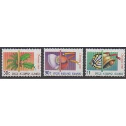 Cocos (Iles) - 1986 - No 153/155 - Noël