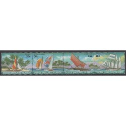Cocos (Island) - 1987 - Nb 156/159 - Boats