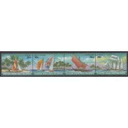 Cocos (Iles) - 1987 - No 156/159 - Navigation