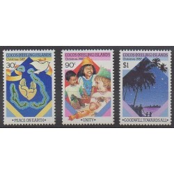 Cocos (Island) - 1987 - Nb 170/172 - Christmas
