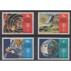 Cocos (Iles) - 1987 - No 163/166 - Télécommunications