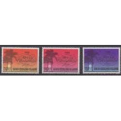 Cocos (Iles) - 1988 - No 192/194 - Noël
