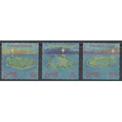 Cocos (Island) - 1990 - Nb 223/225 - Christmas