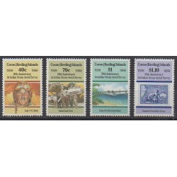 Cocos (Island) - 1989 - Nb 199/202 - Planes