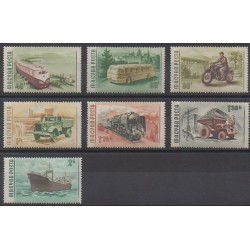Hongrie - 1955 - No 1183/1189 - Transports