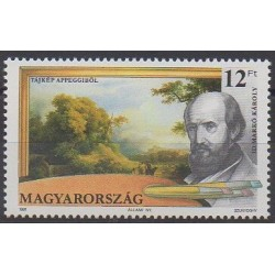 Hongrie - 1991 - No 3324 - Peinture