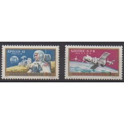 Hongrie - 1970 - No PA325/PA326 - Espace