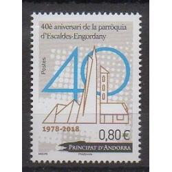 Andorre - 2018 - No 816 - Églises