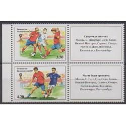 Tajikistan - 2018 - Nb 561A/562A - Soccer World Cup