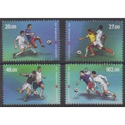 Kirghizistan (Poste Kirghize) - 2018 - No 756/759 - Coupe du monde de football