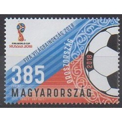 Hungary - 2018 - Nb 4702 - Soccer World Cup