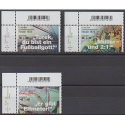 Allemagne - 2018 - No 3159/3161 - Coupe du monde de football
