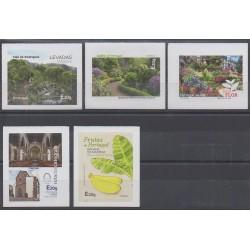 Portugal (Madeira) - 2018 - Nb 386/390 - Parks and gardens