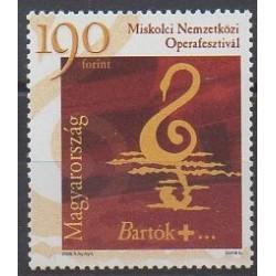 Hongrie - 2006 - No 4131 - Musique
