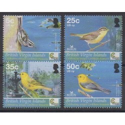 Vierges (Iles) - 2005 - No 1014/1017 - Oiseaux