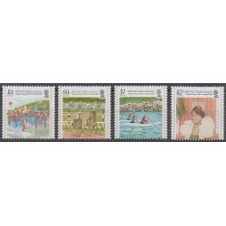 Vierges (Iles) - 2004 - No 1008/1011 - Folklore